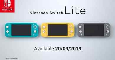 Ανακοινώθηκε το Nintendo Switch Lite