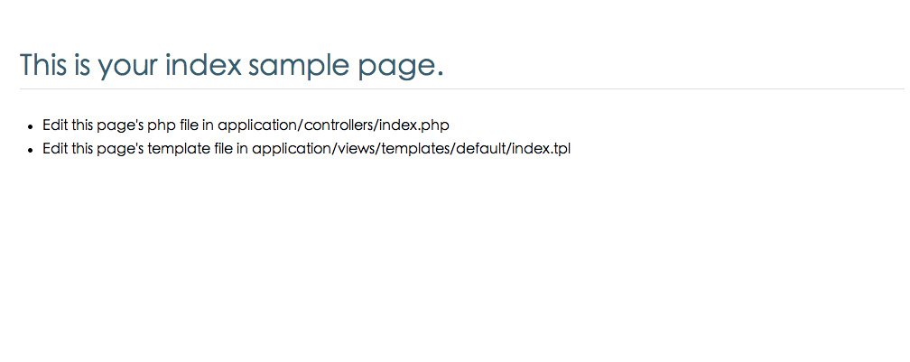 CodeIgniter Customized Package( with Admin console sample