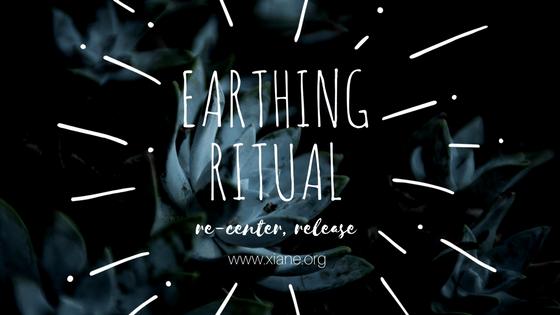 earthing ritual