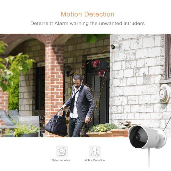 YI Outdoor IP Camera Wireless 1080P HD