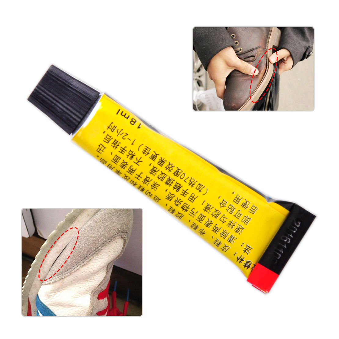 18ml Super Adhesive Repair Glue For Shoe Leather Rubber