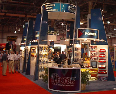 convention booth exhibit