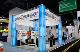 trade show booth by xibit solutions