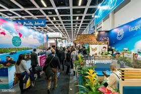 trade show visitors