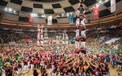Els Xics al Concurs de Castells de Tarragona