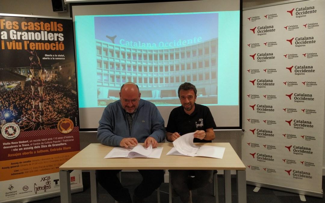 Els Xics signem un conveni de col·laboració amb Assegurances Catalana Occident