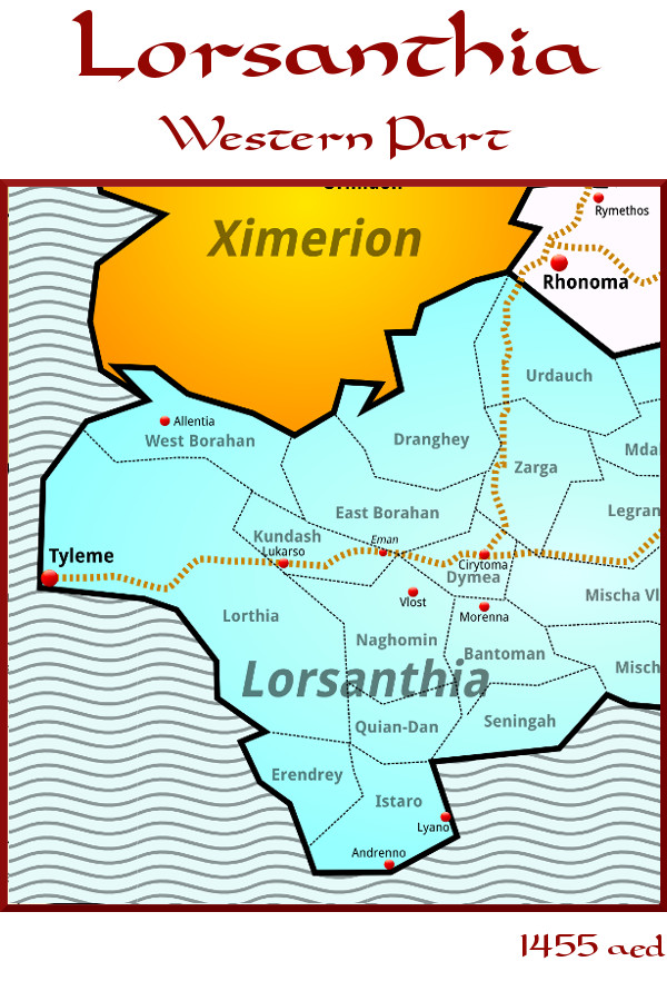 West Lorsanthia — 1455 aed