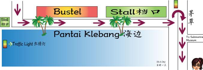 大马沙漠 Pantai Klebang