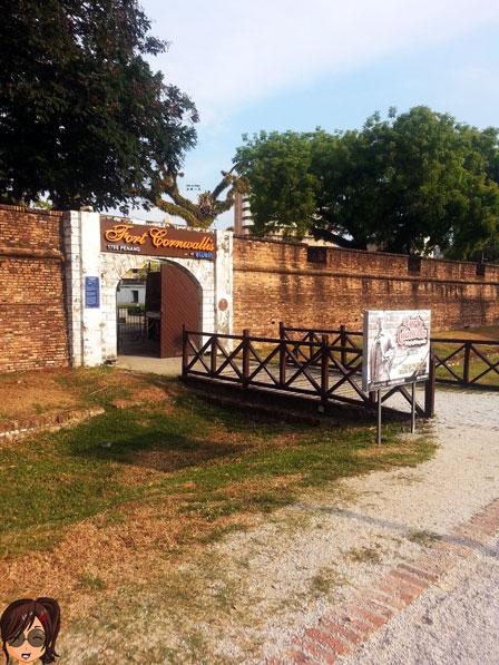Fort CornWallis 古堡