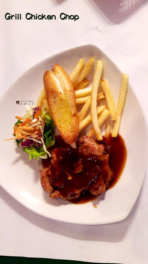Grill Black Chicken Chop 意式烤鸡扒