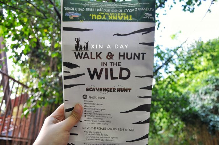 Walk & Hunt in the Wild @ Wildlife Park Sunway Lagoon