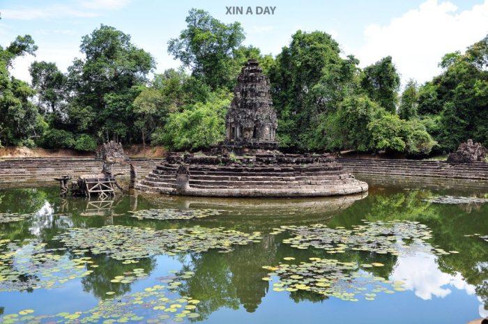 涅槃寺 Neak Pean @ Siem Reap