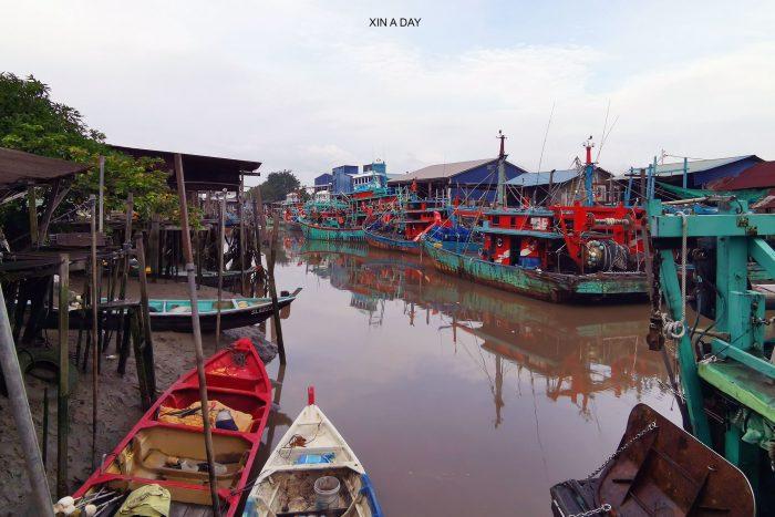 大港渔村 Bagan Sungai Besar