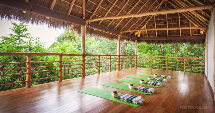 Open-air Yoga Studios