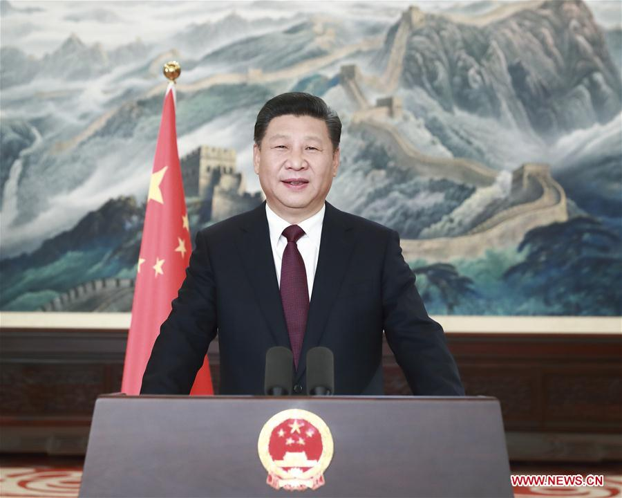 Xinhua Insight  Xi s New Year speech inspires the nation   Xinhua     Chinese President Xi Jinping extends New Year greetings to all Chinese  compatriots and people around the world in his New Year speech in Beijing