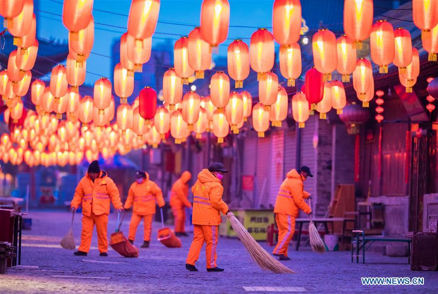 #CHINA-SPRING FESTIVAL-EVE-WORK (CN)