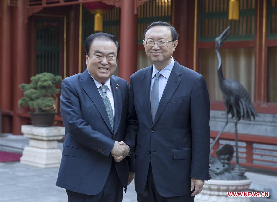 CHINA-BEIJING-YANG JIECHI-ROK-MEETING (CN)