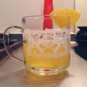 Citrus Ginger Mulled White Wine