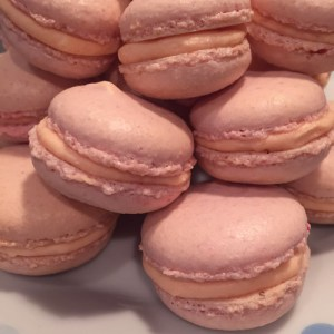 Sakura Macarons: a first attempt at the finicky art of macaron-making