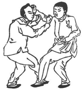 《形意拳學》 孫祿堂 (1915) - drawing 38