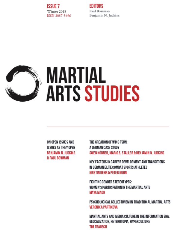 Issue 7 of Martial Arts Studies Now Available: Wing Chun, Collectivism and Fighting Gender Stereotypes