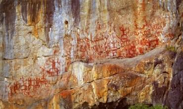 中国武术和岩画 Wushu ed arte rupestre cinese