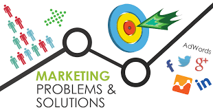 Marketing to solve a problem.