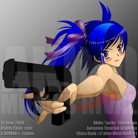 Mirai's Rival Akiko