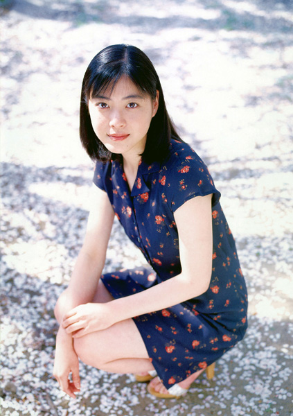 Juri Ueno in her JURIfirst Photo Book (2004)