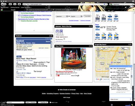 Firefox Personas & Google iGoogles