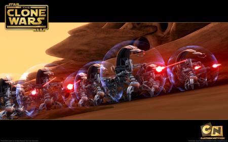 Star Wars - The Clone Wars - Destroyer Droids