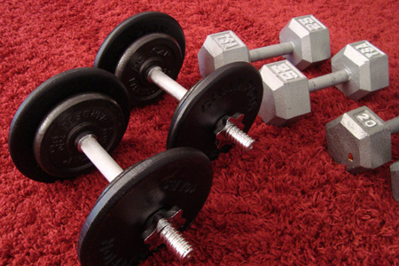 Cap Barbell & Champion Dumbbell Plates