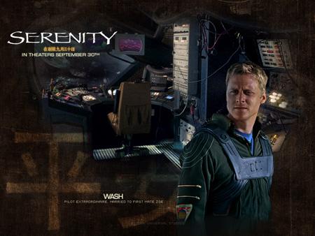 Alan Tudyk as Hoban Washburne | Serenity (2005)