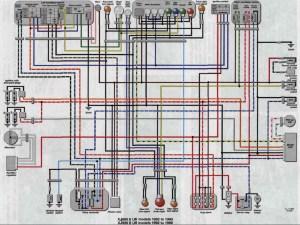19921996 XJ600 Seca II Wiring Diagram (Schematic
