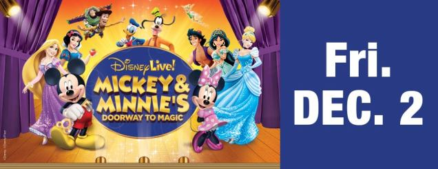 Image result for DISNEY LIVE! MICKEY AND MINNIE'S DOORWAY TO MAGIC XL Center