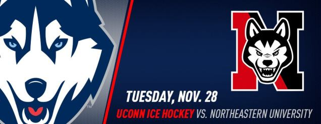 Image result for UCONN HOCKEY VS. NORTHEASTERN Nov 28