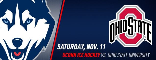 Image result for UCONN HOCKEY VS. OHIO STATE Nov 11