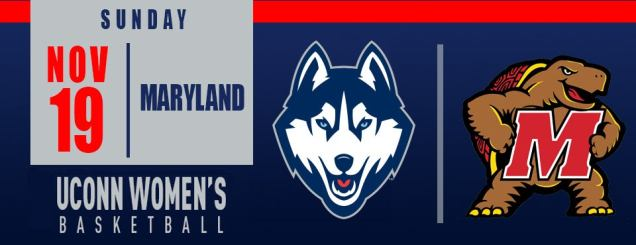 Image result for UCONN WOMEN'S BASKETBALL VS. MARYLAND