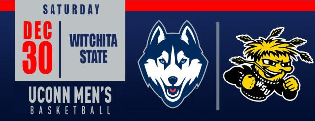 Image result for UConn Men's Basketball vs. Wichita State