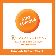 IdeaFestival 2013 Discount Code