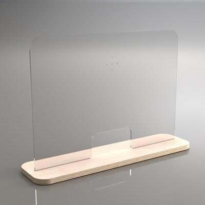 Προστατευτικό Plexiglass Με Βάση