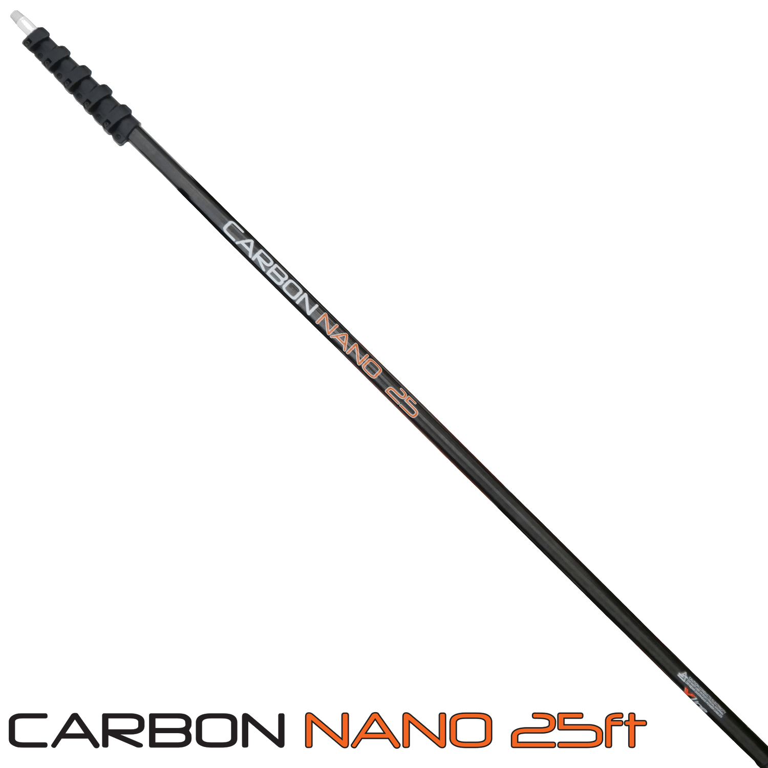 Lightest Stiffest 25ft Water Fed Pole Available
