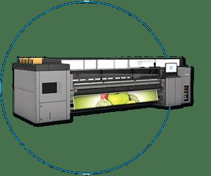Maschinenpark-HP Latex 3000