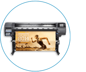 HP Latex 360 Druckmaschinen Latexdruck