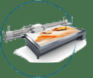 SwissQprint Nyala 2 Druckmaschine 6 Farben und Weißdruck