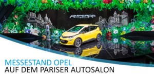 xlprint24 - Pariser Autosalon - Opel Messestand