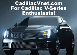 Cadillac V-Net - For Cadillac V-series enthusiasts!