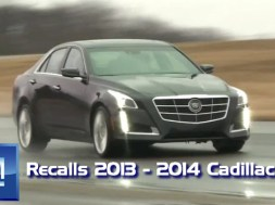 GM Recalls 2013 – 2014 Cadillac CTS