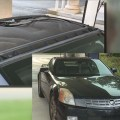 Roof delamination on a 2005 Cadillac XLR.