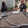 Brad Yates - 2005 Cadillac XLR - Roof Delamination